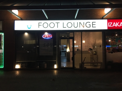 Foot Lounge - Reflexology - 604-438-0500