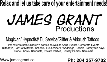 James Grant Productions - Family Entertainment