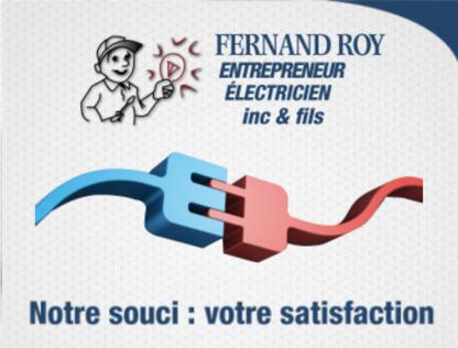Fernand Roy Entrepreneur Électricien Inc - Entrepreneurs en chauffage - 418-889-9168