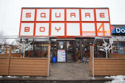 Square Boy Drive In - American Restaurants