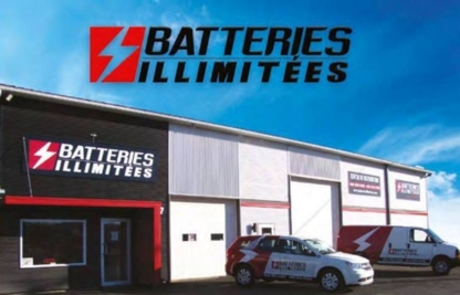 Batteries Illimitées - Storage Battery Dealers - 450-375-7766