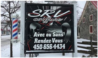 SRV Coiffure - Salons de coiffure et de beauté - 450-656-4434