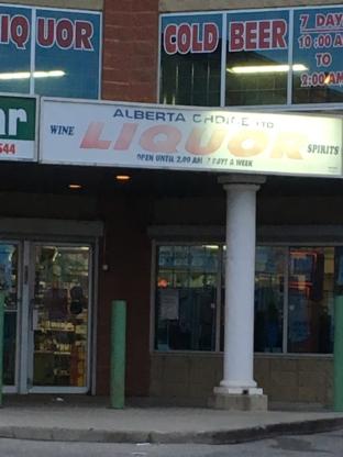 Alberta Choice Liquor - Spirit & Liquor Stores - 403-568-3741