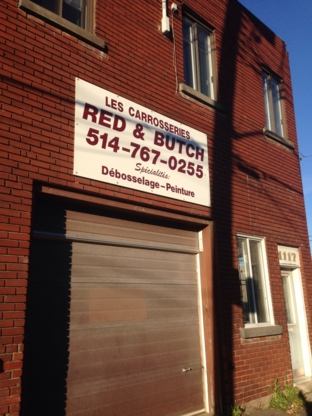 Red & Butch Auto Body - Réparation de carrosserie et peinture automobile - 514-767-0255