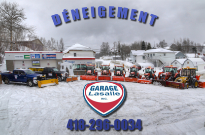 Déneigement Garage Lasalle Inc - Snow Removal - 418-296-0034