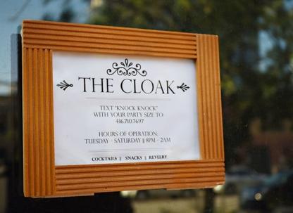 The Cloak Bar - Restaurants - 647-498-9125