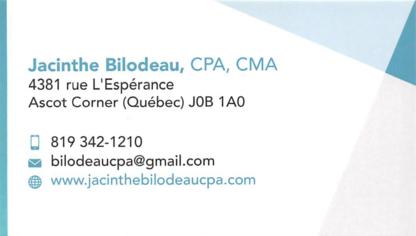 Jacinthe Bilodeau CPA Inc - Chartered Professional Accountants (CPA)