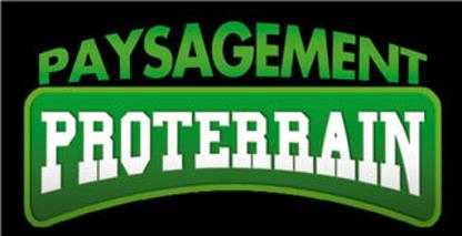 Paysagement Proterrain - Paysagistes et aménagement extérieur - 514-829-5069