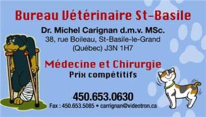 Clinique Vétérinaire Dr Carignan St-Basile - Médicaments pour animaux et bestiaux