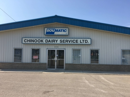 Chinook Dairy Service Ltd - Fournitures et matériel de laiterie