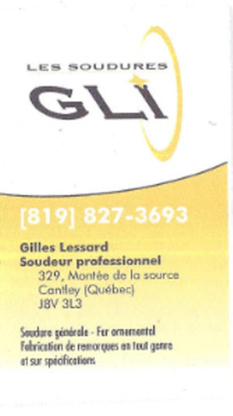 Les Soudures G.L.I - Trailer Renting, Leasing & Sales
