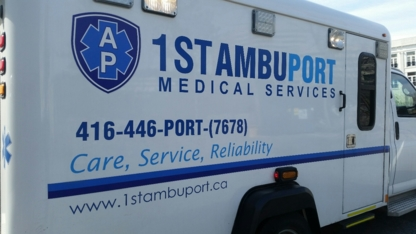 1st Ambu Port - Ambulance Service - 416-446-7678