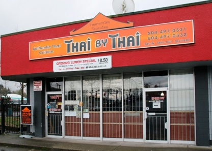 Thai By Thai - Thai Restaurants - 604-593-5244