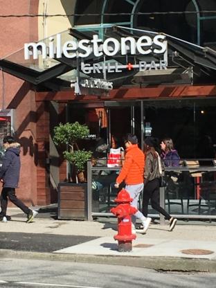 Milestones - Restaurants
