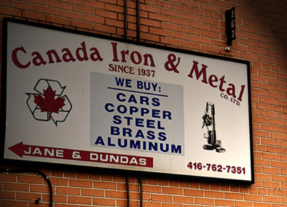 Canada Iron & Metal Co - Scrap Metals - 416-762-7351