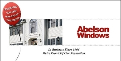 Abelson Windows & Doors - Windows - 519-885-2222