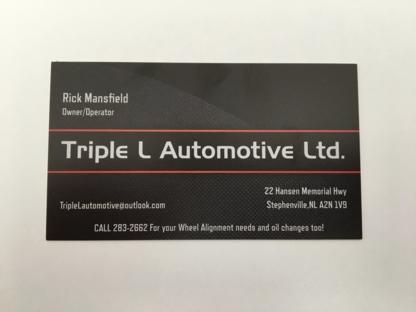 Triple L Automotive - Auto Repair Garages