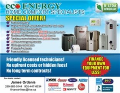 Eco Energy - Fournaises - 289-983-0144