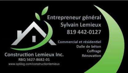 Construction Lemieux - General Contractors