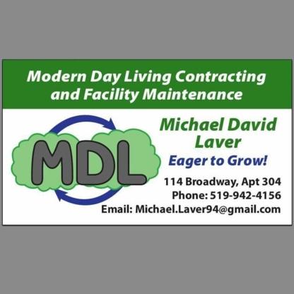 MDL Contracting & Maintenance - General Contractors - 519-942-4156