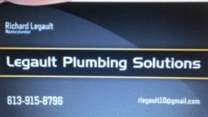 Legault Plumbing - Plumbers & Plumbing Contractors - 613-915-8796