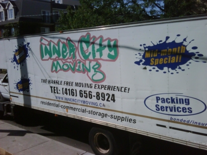 InnerCity Moving & Storage - Moving Services & Storage Facilities - 416-656-8924