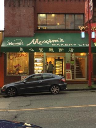 Maxim's Bakery Ltd - Bakeries - 604-688-6281