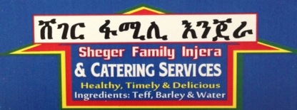 Sheger Family Injera & Catering Services - Bakeries - 647-725-6252