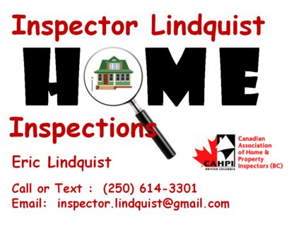 Inspector Lindquist Home Inspections - Home Inspection
