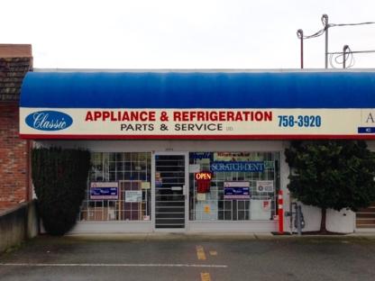 Classic Appliance - Appliance Repair & Service - 250-954-1040