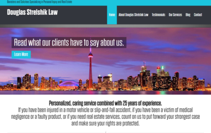 Douglas Strelshik Law - Real Estate Lawyers - 647-237-4211