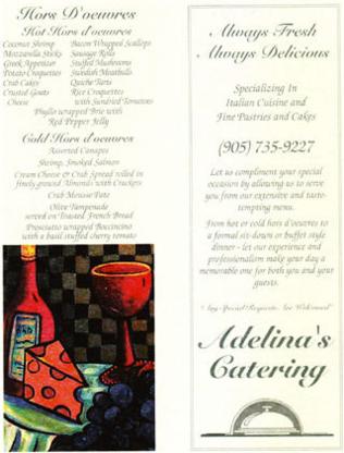 Adelina's Catering - Italian Restaurants - 905-735-9227