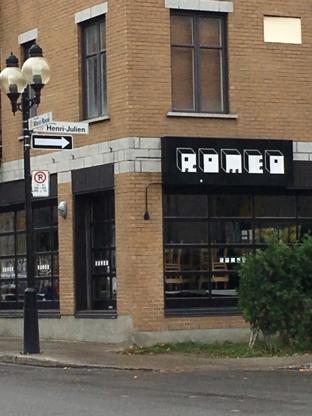 Pizzeria Roméo - Italian Restaurants - 514-987-6636