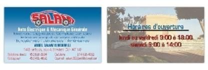 Salam 2000 - Services d'électricité et électriciens automobile - 450-656-8884