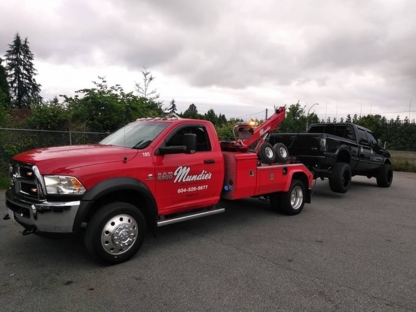 Mundies Towing and Recovery - Vehicle Towing