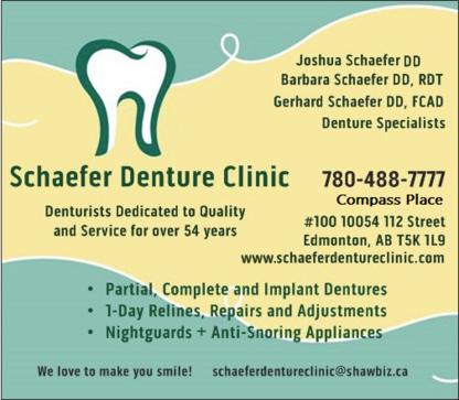 Schaefer Denture Clinic - Denturists