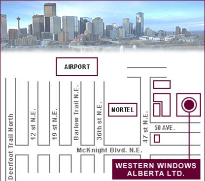 Western Windows Alberta Ltd - Windows - 403-291-3035