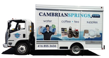Cambrian Springs - Bulk & Bottled Water - 416-855-3636