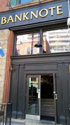 Banknote Bar - American Restaurants