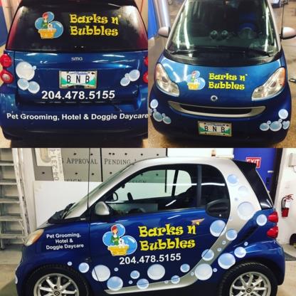 Barks n' Bubbles Pet Spa Inc - Toilettage et tonte d'animaux domestiques - 204-478-5155