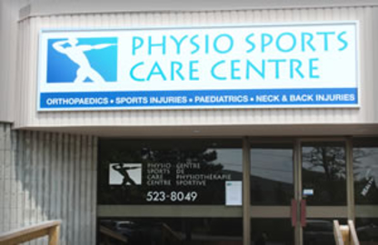 Physio Sports Care Centre - Physiotherapists - 613-523-8049