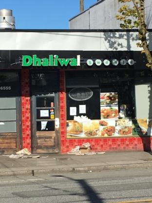 Dhaliwal Sweets - Restaurants - 604-325-4911