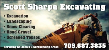 Scott Sharpe Excavating - Excavation Contractors - 709-687-3835