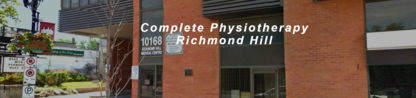 View Complete Physiotherapy & Rehabilitation Centre's Schomberg profile