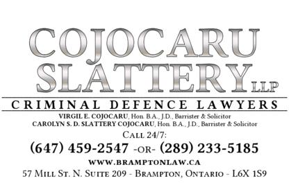 Cojocaru Slattery LLP - Criminal Defence Lawyers - Human Rights Lawyers