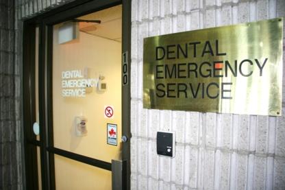 Dental Emergency Services - Service d'urgence dentaire - 416-485-7121