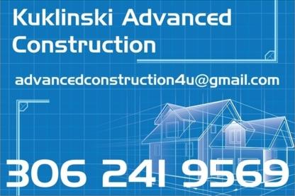 Kuklinski Advanced Construction - General Contractors - 306-241-9569