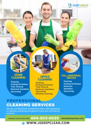 Voir le profil de JS Deep Clean - New Westminster