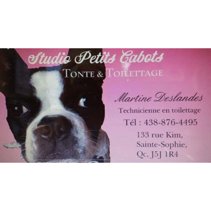 Studio Petits Cabots - Toilettage et tonte d'animaux domestiques - 438-876-4495