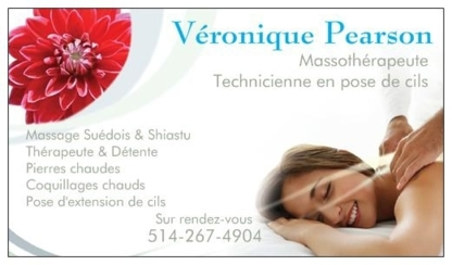 Massothérapie Véronique Pearson - Massage Therapists - 514-267-4904